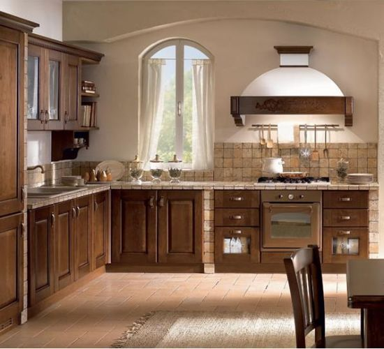Modern Luxury Wooden Kitchen Cabinet Design