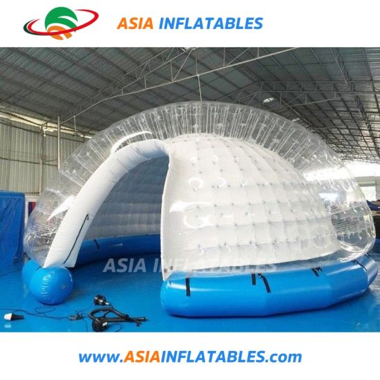 046395daf50 Inflatable Outdoor or Indoor Christmas Inflatable Snow Globe with Blowing  Snow for Trade Show pictures