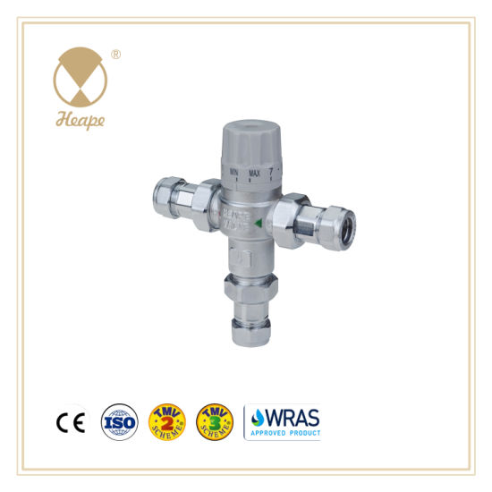 Heape Wras Tmv2 Brass Water Thermostatic Mixing Valve for Hardware