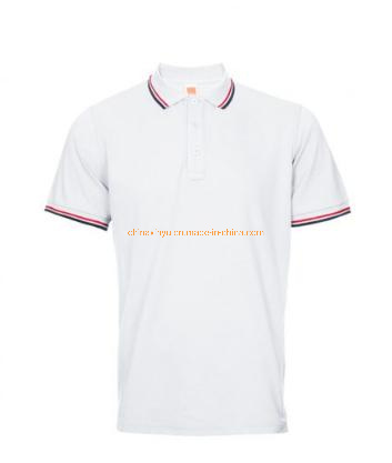 Custom Made Pique Poly Cotton Embroidered Polo Shirts