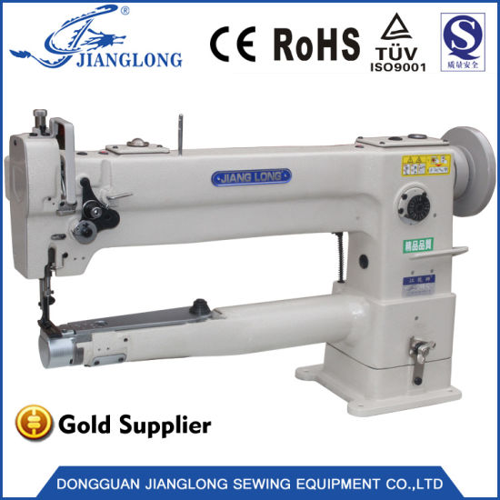 Jl-246-C Industrial Sewing Machine Small Mouth Lengthening Cylinder Leather Handbag Industrial Sewing Machine