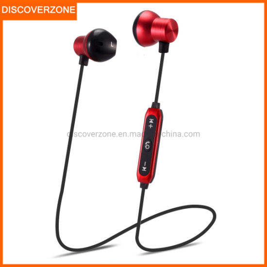 China M17 Sport Bluetooth Headset Wireless Stereo Music Bluetooth Neck Band Handsfree Earphone For Samsung China Bluetooth Headset And Headphone Price