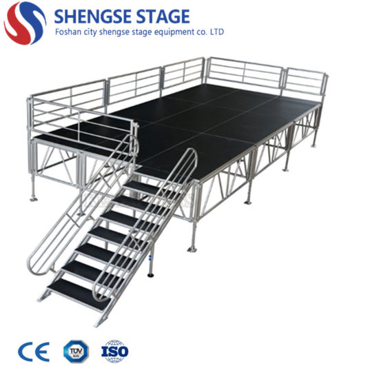 Wholesale Aluminum Outdoor Layer Podium Mobile Concert Truss Stage for Event