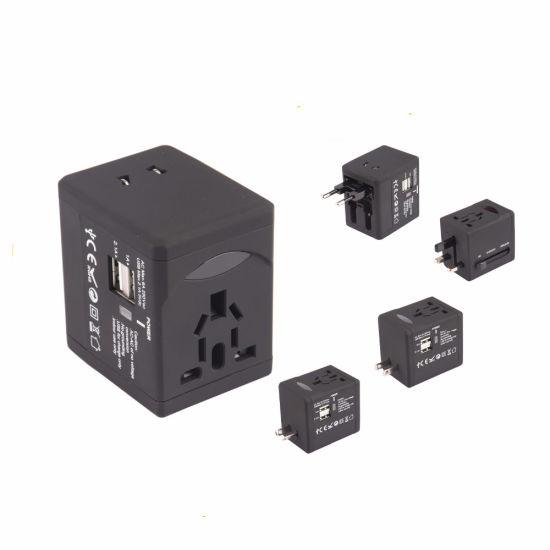 Worldwide Travel Adapter Multi-Purpose Plug Adapter with 2 USB Port