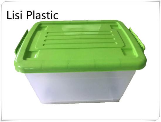 55L Plastic Storage Box for Toy Box