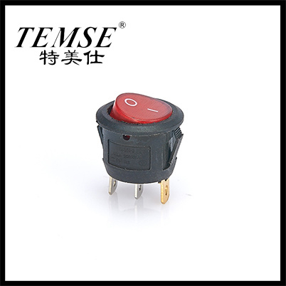 Temse 3 Pin on-off Appliance Parts Rocker Switch