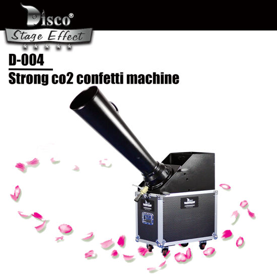 Stage Special Effect Weeding Party Large Big CO2 Confetti Machine with Manual Control Paper Machine