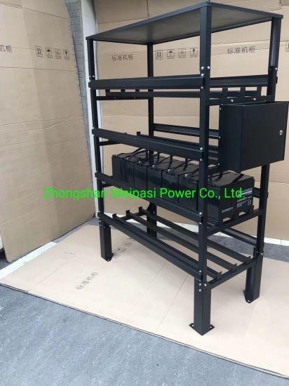 China Battery Assembling Racks stainless Steel Frame Battery