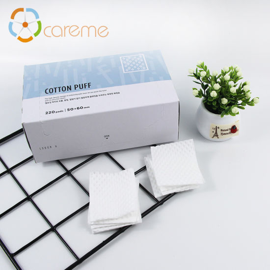 Make-up Remover Cleansing Non Woven Cotton Pad