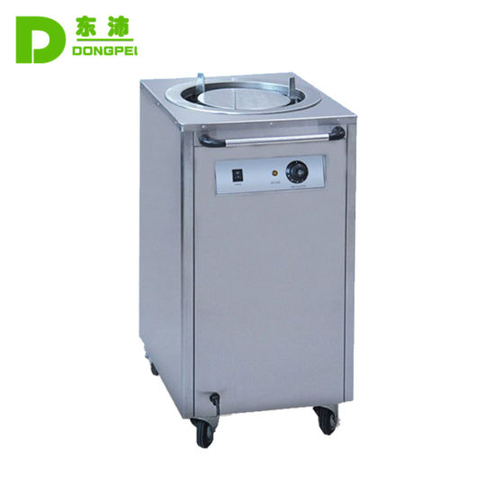 Commercial Kitchen Equipment Electric Plate Warmer Cart with One Holder for Resteraunt pictures & photos