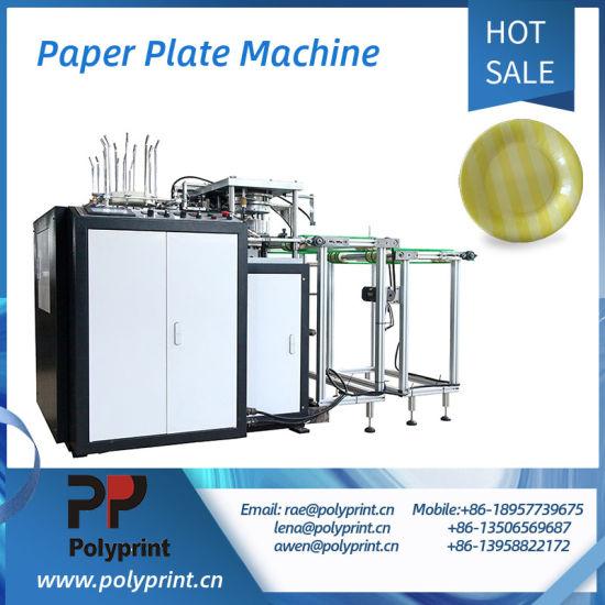 Fast Food Cake Dessert Flexo Print Paper Dish/Tray/Plate Making Machine