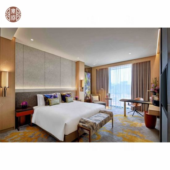 Modern 5 Star Hotel Single Double Bedroom Room Interior Furniture