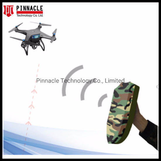 Handheld Light Weight Portable Anti-Drone Jammer