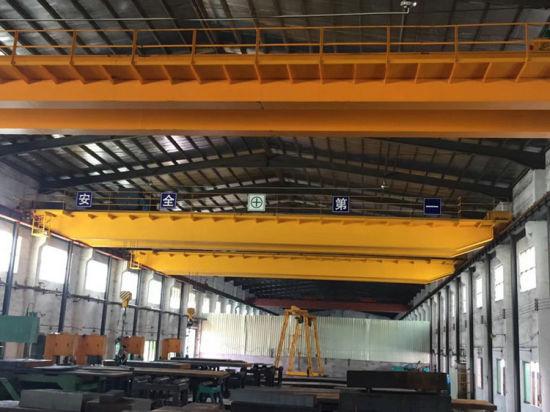 Qd Model Double Girder 5t 15tons Material Handling Bridge Overhead Cranes Price