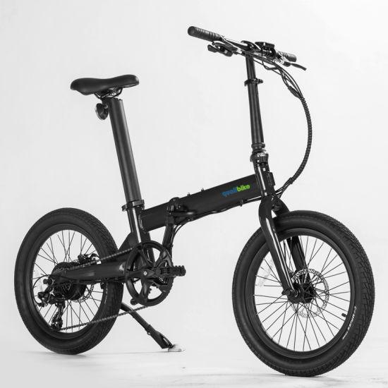 OEM Wholesale 20 Inch 7 Speed Aluminum Alloy Folding Electric Bike