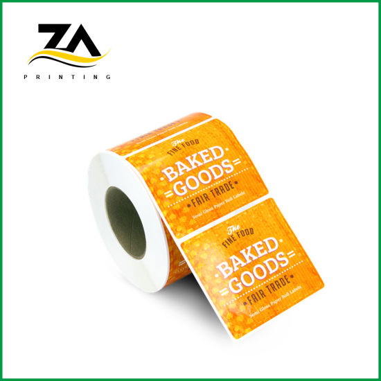 Wholesale Printed Bottle Sticker Customized Labels