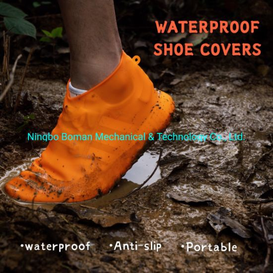 Silicone Rubber Product, Molded Rubber Part, Waterproof Rubber Shoe Cover