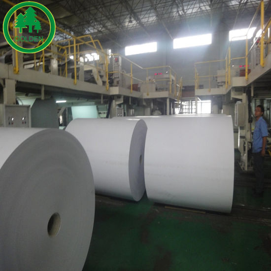 Uncoated Woodfree Offset Bond Paper for Printing in Bulk or Roll