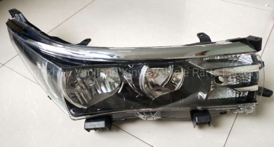 Auto Parts Head Lamp for Corolla 2014 Middle East pictures & photos
