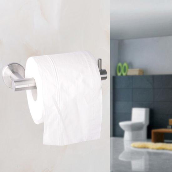Stainless Steel Toilet Paper Holder Kitchen Bathroom Tissue Roll Stand
