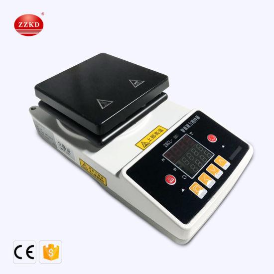 Laboratory Zncl-Bsdigital Industrial Hotplate Magnetic Stirrer