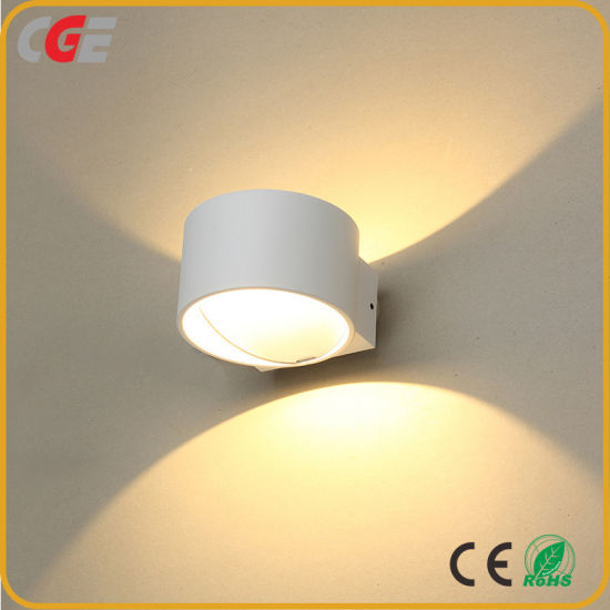 Outdoor Wall Light Decorative 7W COB Aluminumwall Lamp Indoor LED Wall up Down Lighting for Bedroom Hotel Wall Lamp Wall Sconce