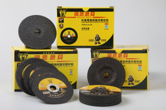 107*1.2mm High Quality Black Abrasive Cutting Disc for Metal and Steel