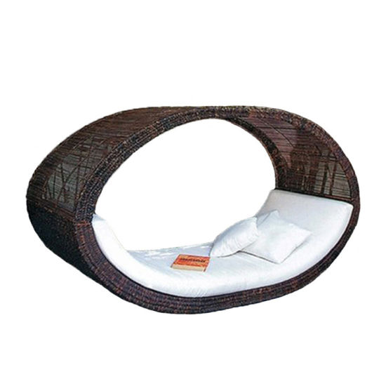 New Outdoor Bed Creative Rattan Art Deck Chair
