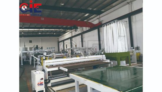 Suitcase /Roof of Cars/ Dashboard/Door/ Window Frame ABS /HIPS / PMMA Plastic Sheet Extrusion Making Machine