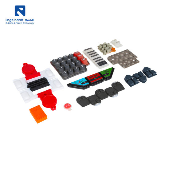 Super September Custom Industrial Keyboard Membrane Switches Silicone Rubber Buttons