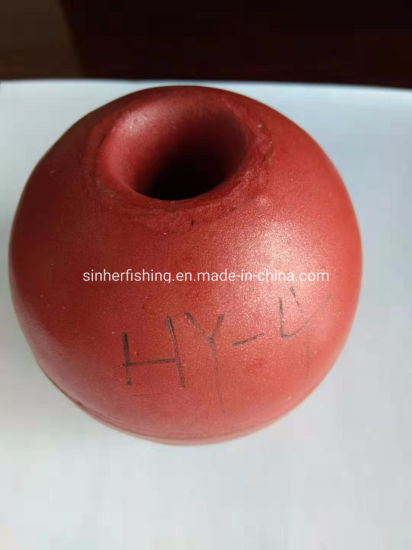"80mm 8cm 3"" Round Plastic PVC Fishing Float Ball"