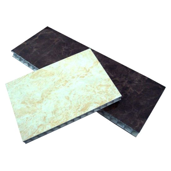 Marble Honeycomb Sandwich Panel Made From Aluminum Composite Panel for Decoration
