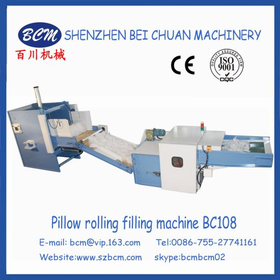 Pillow &Cusihion Rolling Filling Line Bc108