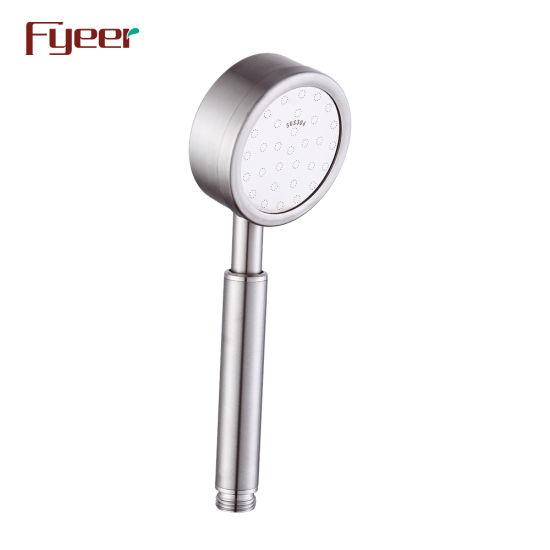 Fyeer New Design Bathroom Bathtub Faucet Hand Shower Stainless Steel Shower Head
