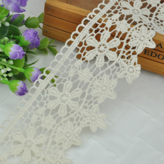 New Arrival Cotton Embroidery Lace Trimming