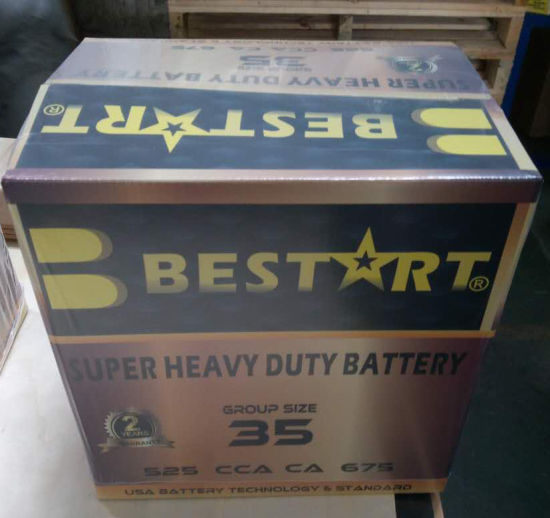 USA Auto Battery Bci 35 CCA 630 pictures & photos