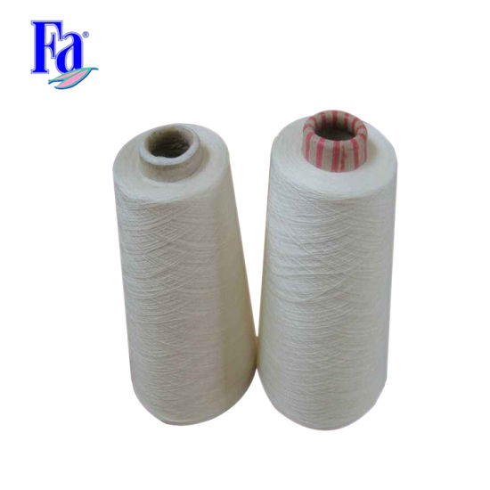 60/40 10s, 21s Open End Polyester Cotton Yarn, CVC Yarn pictures & photos