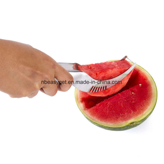 Watermelon Slicer Corer and Server - Highest Quality 18/10 Stainless Steel Melon Slicer pictures & photos
