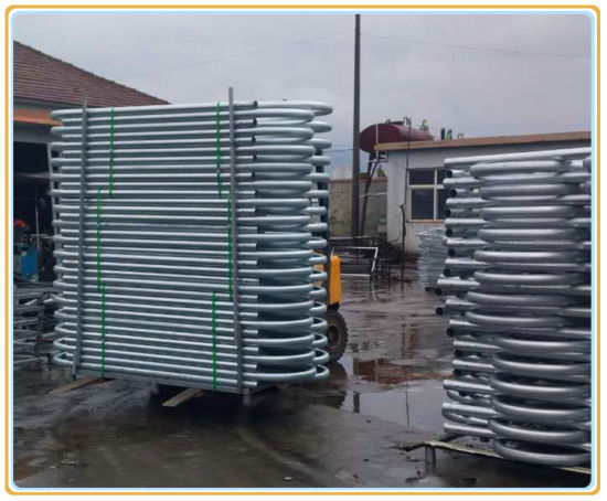Galvanized Cattle Free Stall Fence Panel