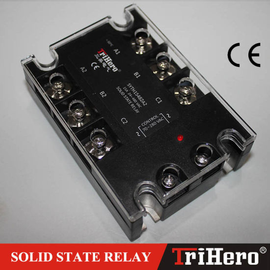 10A AC/AC 3-Phase Solid State Relay SSR (SSR-3D10) pictures & photos