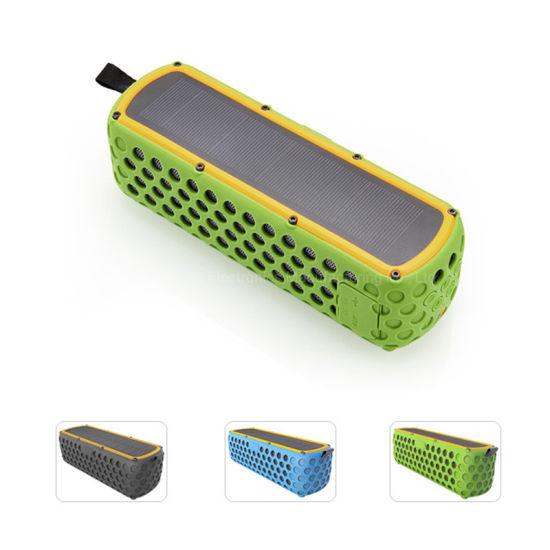 Portable Waterproof Bluetooth Solar Outdoor LED Wireless Speaker