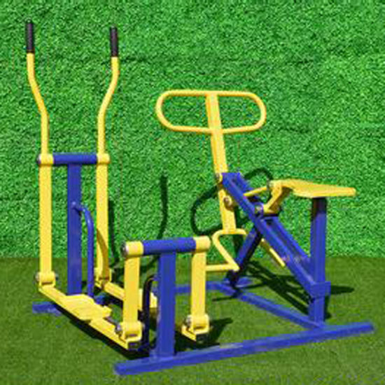 Full Set Professional Design High Quality Outdoor Fitness and Exercise Facility pictures & photos