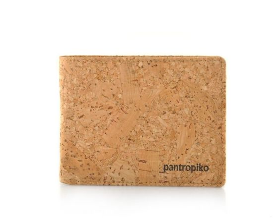 Environmental Cork Material Handmade Man Wallet
