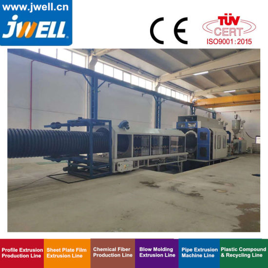Jwell High Speed HDPE PP Dwc Pipe Extrusion Machine