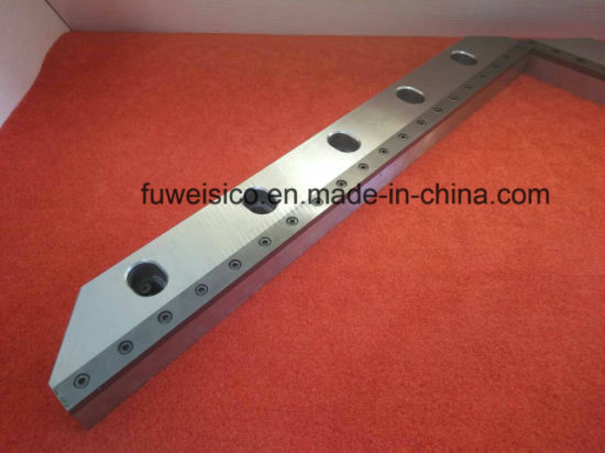 Carbide Tipped Straight Shear Blades pictures & photos