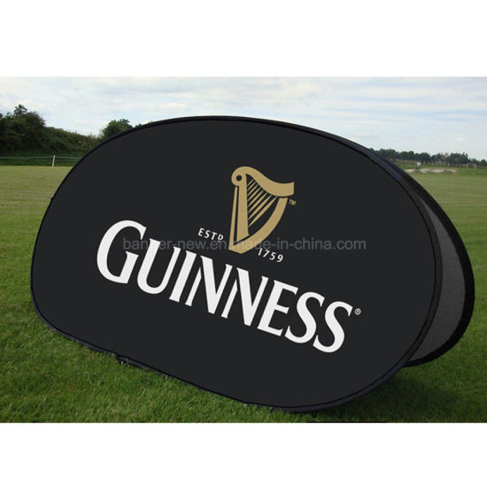 Oval Advertising Outdoor Pop up a Frame Display Banner (SS-AB-14) pictures & photos
