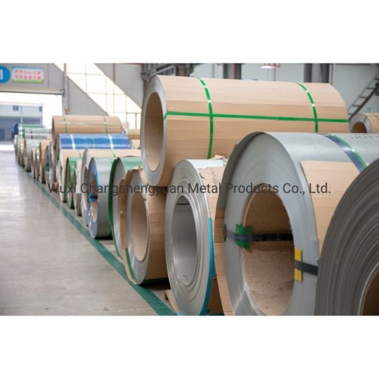 Cold Rolled AISI SUS 201 304 316L 310S 316ti 317 317L 321, 347 347H Stainless Steel Coil with High Quality Factory Price