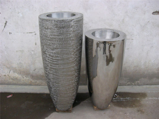 Flower Pot Metal Stainless Steel Art