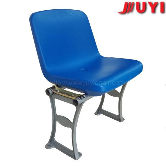 Blm 1317 Chinese Maker Ce Certificate Outdoor Furniture High Density Polyethylene Steel Leg Football Basketball Spectator Chair