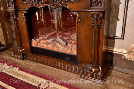 sculpture Home Furniture Heating and Lighting Elctric Fireplace (318B) pictures & photos